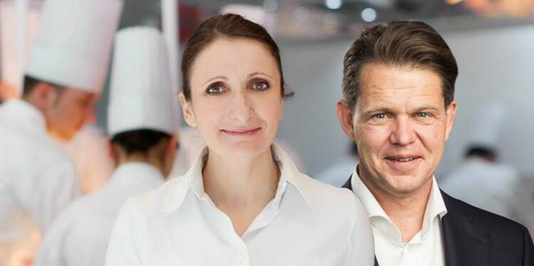 Anne-Sophie Pic et Jonathan Pennella : ils veulent créer le Nespresso du plat cuisiné