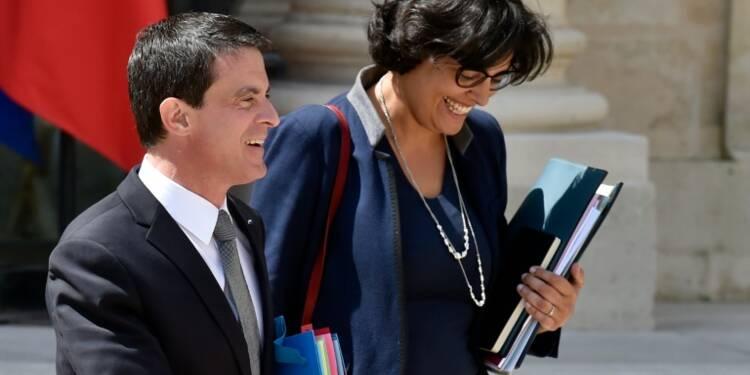 Loi travail: Valls et El Khomri recevront syndicats et patronat mercredi et jeudi (Matignon à l'AFP)