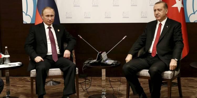 Erdogan veut éviter l'escalade, mais Poutine durcit le ton
