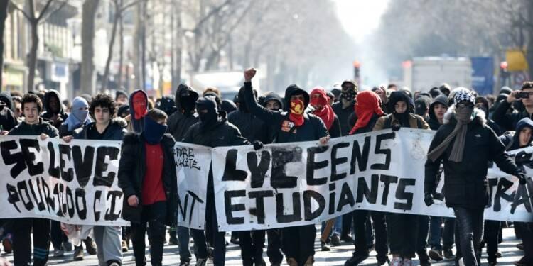 Loi travail: des facs fermées, des lycées bloqués et des incidents