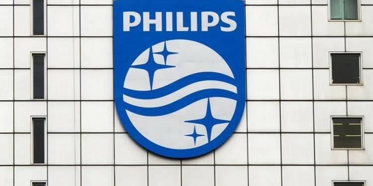 Résultats trimestriels de Philips meilleurs que prévu