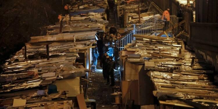 Un campement de Roms évacué à Paris