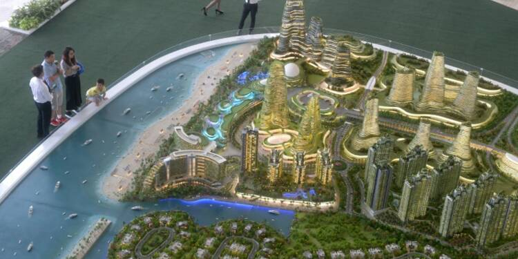Ville luxueuse au large de Singapour: craintes de catastrophe écologique