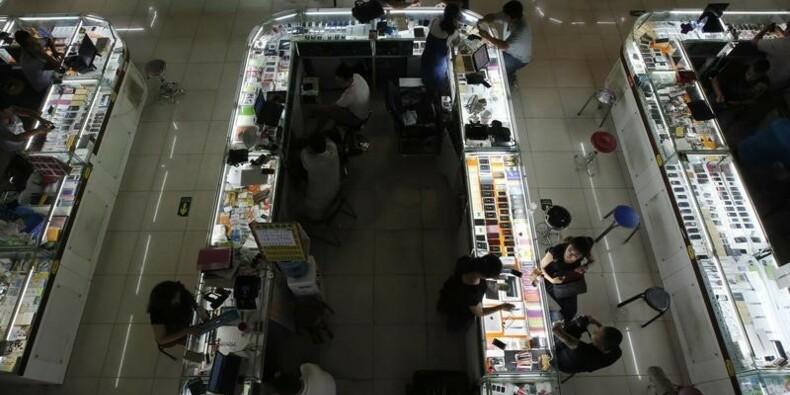 Chine : la déprime s'accentue, les marchés émergents à un plus bas de 7 ans