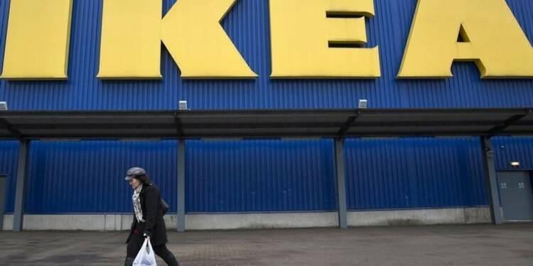 La Chine et internet font progresser le bénéfice d'Ikea