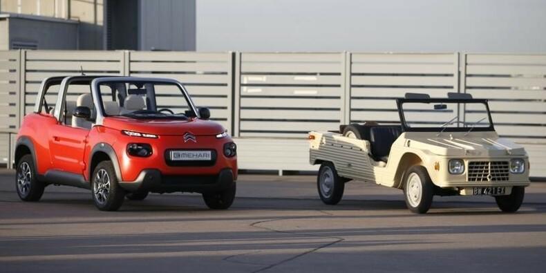 Citroën lance la Méhari électrique avec Bolloré