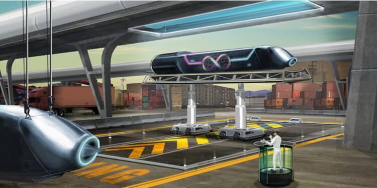 Découvrez en images l'Hyperloop, ce train supersonique qui séduit la SNCF