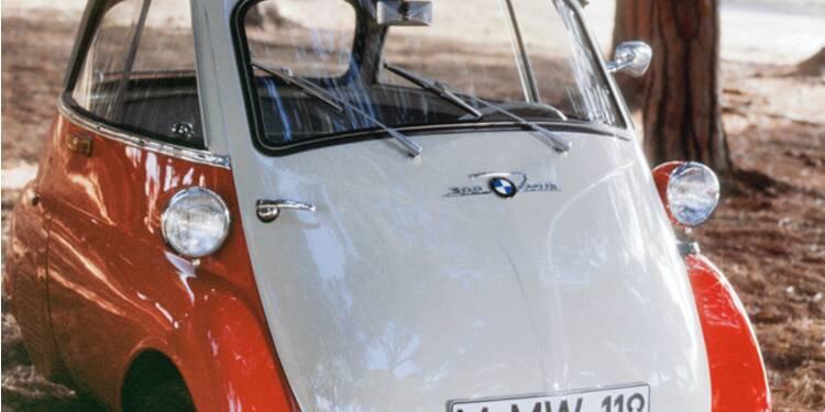 """BMW Isetta, 1955 : Ce """"pot de yaourt"""" à deux places préfigurait la Smart"""