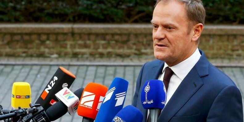 Certaines demandes de Londres semblent inacceptables, dit Tusk