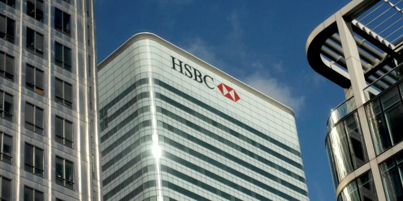 HSBC verse 470 millions de dollars pour régler un litige