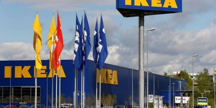 Ikea prévoit une croissance des ventes annuelles de 8% à 10%