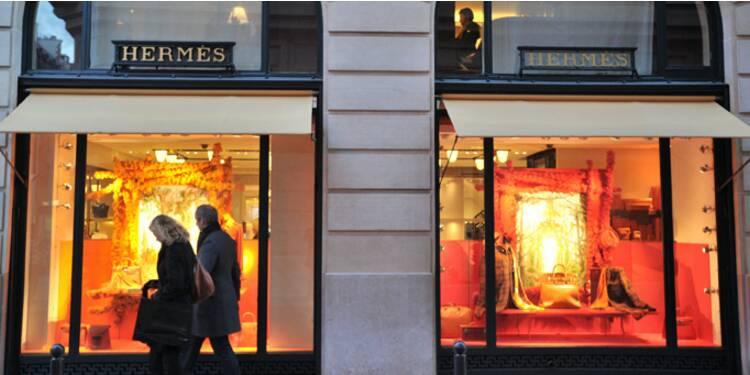 Hermès, dopé par le Japon, dépasse largement ses pairs