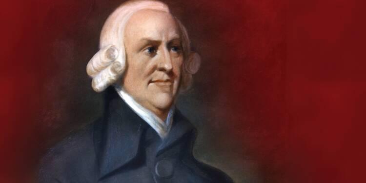 Adam Smith (1723 -1790) : le marché n'a besoin de personne pour fonctionner