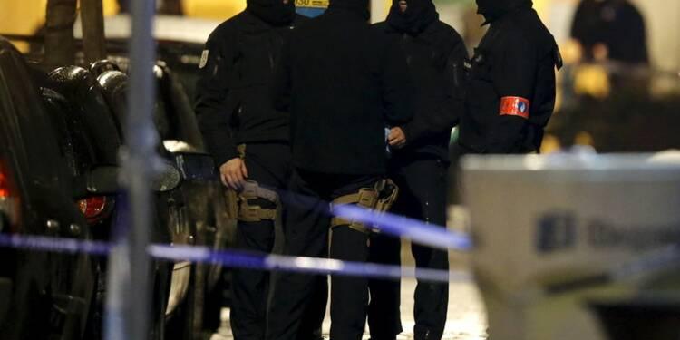 Un suspect blessé et arrêté à Bruxelles
