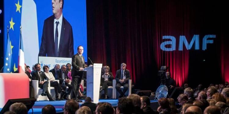 François Hollande fait un geste pour les communes en 2017