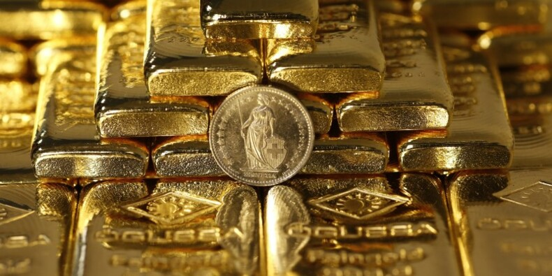 L'or revient en grâce à la faveur de la chute des Bourses