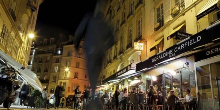Chute des réservations dans les hôtels-restaurants à Paris