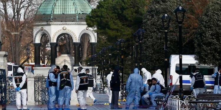 Neuf Allemands et un Péruvien tués dans un attentat à Istanbul