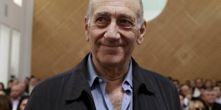 Ehud Olmert condamné à 18 mois de prison pour corruption