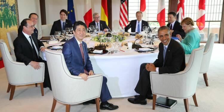 Au G7, Shinzo Abe agite le spectre de la crise financière