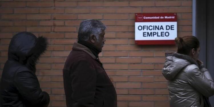 Chômage en Espagne sous les 4 millions, une première depuis 2010