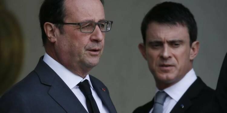 François Hollande a son plus bas niveau, selon un sondage