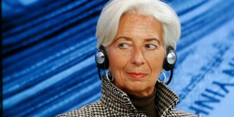 Christine Lagarde candidate à un nouveau mandat à la tête du FMI