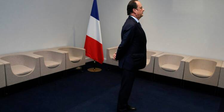 Rebond sans précédent de la cote de popularité de Hollande