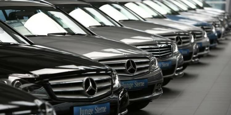 Le marché automobile allemand en baisse de 3,9% en juillet