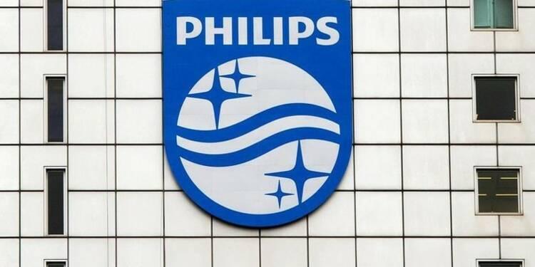 Philips atteint le consensus et améliore ses marges