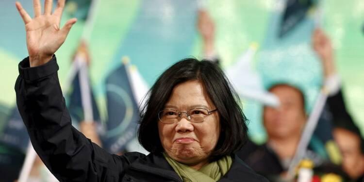 Tsaï Ing-wen, pro-indépendance, élue à la présidence de Taïwan