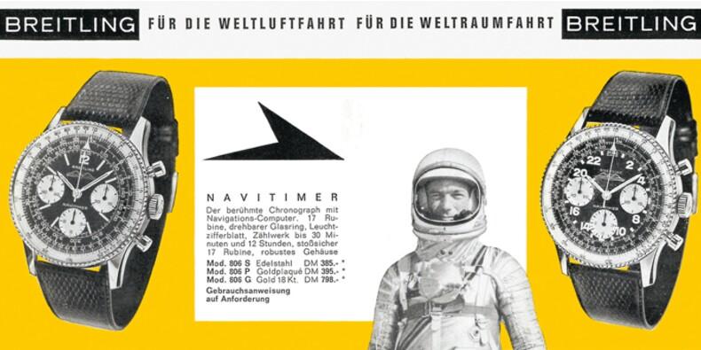 Montres Breitling, une légende née dans les cockpits