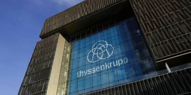 ThyssenKrupp réorganise ses activités, dont la sidérurgie