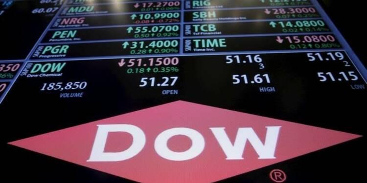 Bénéfice meilleur que prévu pour Dow Chemical au 4e trimestre