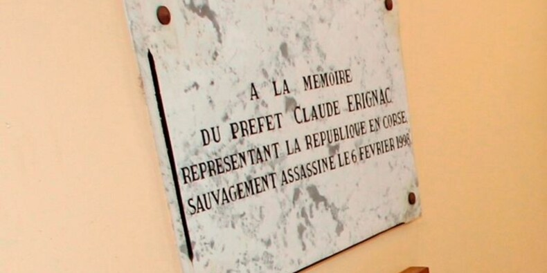 Gilles Simeoni présent à l'hommage au préfet Erignac en Corse