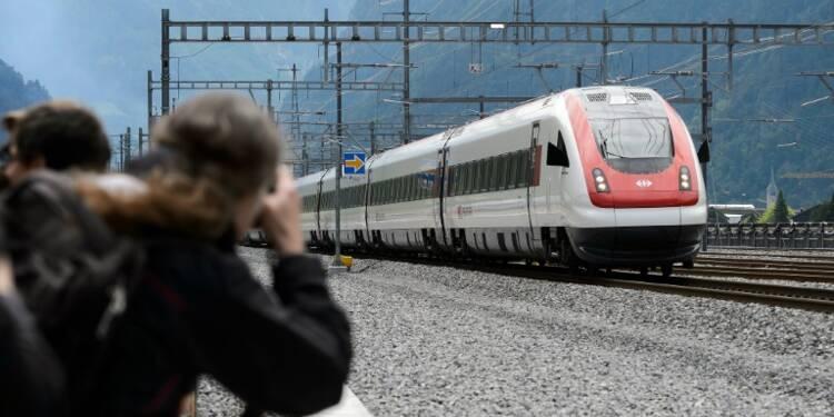 La Suisse inaugure le plus long tunnel au monde