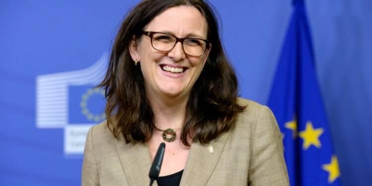 """TTIP: Bruxelles """"travaille dur"""" pour faire aboutir la négociation mais sous conditions (Malmström)"""