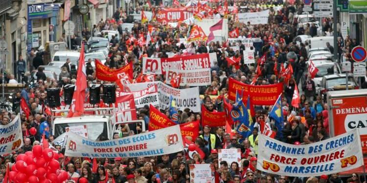 Violents heurts lors des manifestations contre la loi Travail