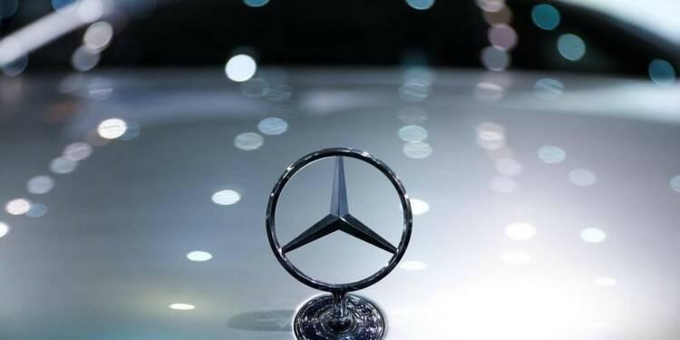Mercedes-Benz annonce une hausse de 13% de ses ventes en mai