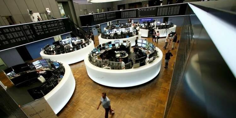 Les Bourses européennes en baisse à l'ouverture