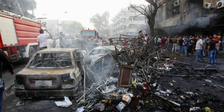 Près de 120 morts dans deux attentats en plein ramadan à Bagdad