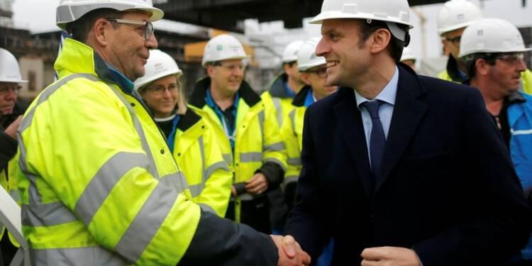 Macron veut discuter alliance avec STX pour les chantiers navals