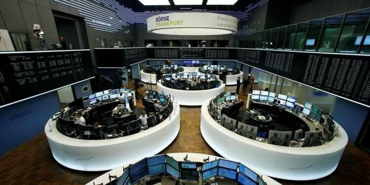 Les Bourses européennes en nette hausse à mi-séance
