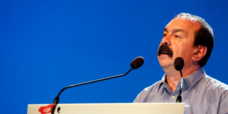 Réélu à la tête de la CGT, Martinez brandit la menace d'une grève