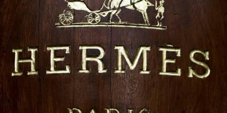 Hermès: nouvelle année record avec près d'un milliard d'euros de bénéfice