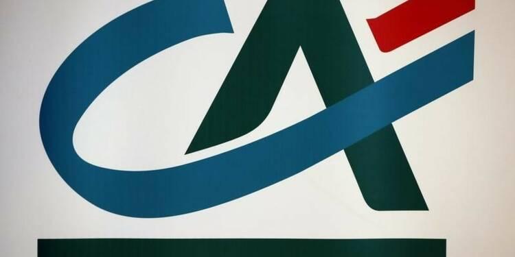 Crédit agricole affiche des résultats en forte baisse