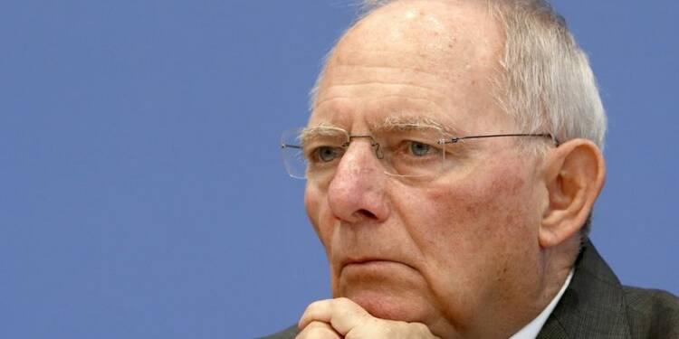 La BCE est à l'origine de problèmes exceptionnels, dit Schäuble