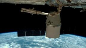 Retour sur Terre d'une capsule SpaceX Dragon