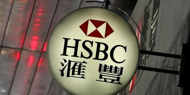 Le bénéfice de HSBC recule plus que prévu au 1er semestre