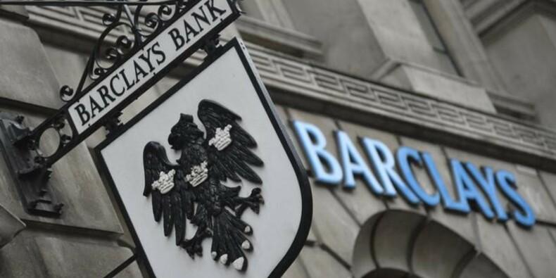 Baisse de 20% du bénéfice imposable semestriel de Barclays
